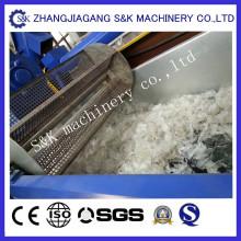 Máquina de lavar e pelletizar de filme PE / PP
