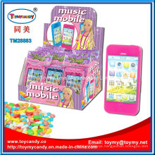 Music Mobile Phone Toys with Candy for Kids