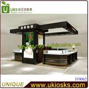 J10062-Jewelry or Jade Retail Display Showcase with LED Lighting