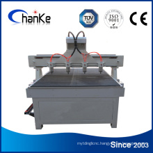 4 Heads Router CNC Multi Spindle for Wood Chair MDF