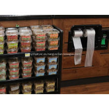 Bolsa de congelador de plástico para supermercado