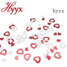 Topes de confeti de mesa de estilo Country de diferentes tamaños HYYX