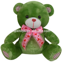 Cheap doll funny recording plush teddy bear toy for christmas plush musical christmas toy