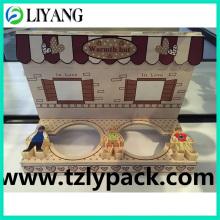 Bloque de juguete para niños, película de transferencia de calor para madera