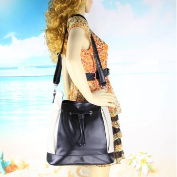Top-Handle Women's PU Leather Tote Shoulder Bags
