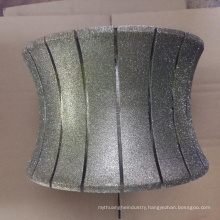 250mm electroplated stone profile wheel diamond marble abrasive wheel