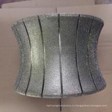 250мм гальваническим камень колесо профиля диаманта мрамора абразивного круга