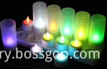 rechargeble tealight candles