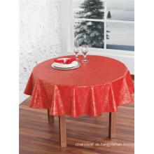 Großhandel billig Vliesstoff Unterstützung PVC gedruckt Tischdecke für Hochzeit / Party / Home