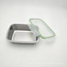Almacenamiento hermético aislado vacío de la comida de la cerradura de la caja del acero inoxidable 304 de 550ml