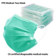 PPE Máscara Facial Uso Médico