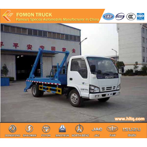 Japan technology 4x2 6 M3 trash collecting truck