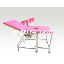 (A-176) Медицинская кровать / Больничная кровать / Больничная мебель / Поставка из нержавеющей стали