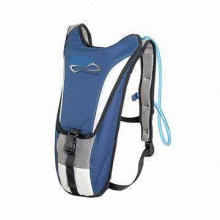 Sports hydration backpack, made of polyester