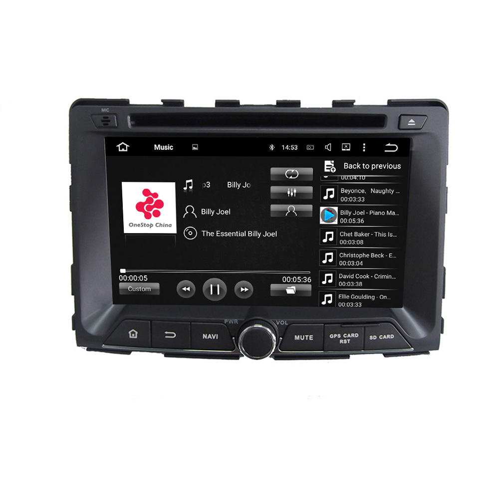 Android car DVD for SsangYong RODIUS 2014