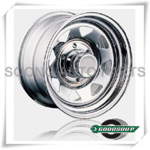 "Spoke-Non Beadlock Wheels GS-404 Steel Wheel from 15"" to 17"" with different PCD, Offset and Vent hole"