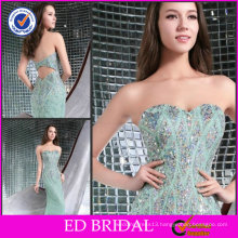 Glamurous New Arrival Mermaid Strapless Sweetheart Neckline Sequins Beaded Evening Dresses Guangzhou ED-YH220