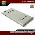 раковина iPhone ЧПУ алюминиевые детали анодированный серебром CNC частей