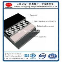 Laceration Steel Mesh Resistant Conveyor Belt