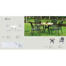 Outdoor Cast Aluminium Table (HY-T010)