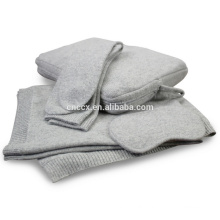 PK18ST002 travel bag set cashmere travel blanket nap set