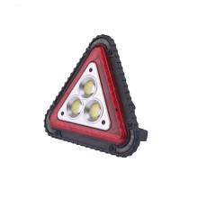 Luz de advertencia LED portátil a prueba de agua triángulo