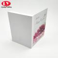 Conjunto de jóias personalizadas presente caixa de embalagem magnética