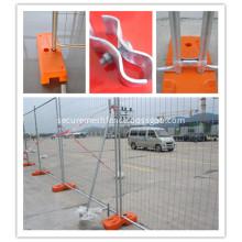 Australia Temporary Wire Mesh Fence with Concrete Plastic