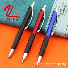 Stylo à encre en plastique de stylo de logo de haute qualité sur la vente