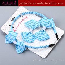 Art- und Weisegewebe-Band-Haar-Zusatz-Verzierung für Frauen