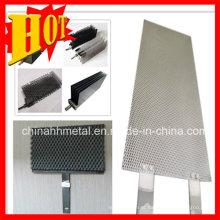 Folha e Placa de Anodos Ru-IR e Platinum Titanium Mmo