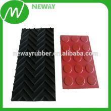 Fornecimento de alta qualidade OEM Non Slip borracha almofadas EPDM com adesivo