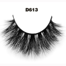 wholesale false eyelashes thick strip 3D private label mink eyelashes for women