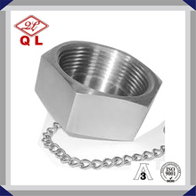 Sanitary Blank Blind Nut with Chain