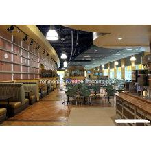 Juegos de comedor personalizados para restaurantes del centro de comidas (FOH-FCS1)