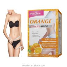 winstown Weight Loss orange juice Slim Supplement Flat Tummy Fat Burn Detox Slimming Juice Powder