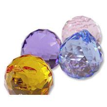 Candelabros Cristal Colgantes Bola De Cristal