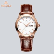 Classical Senhoras relógio de pulso de couro com Movimento Quartz 71266