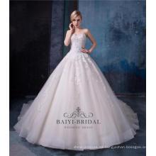 Vestido de novia vestido de novia de una línea 2017 HA580