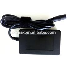 90W, Universal, 2PIN, adaptador de laptop de cartão de nome
