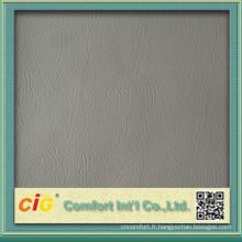 Tissu en cuir synthétique PVC pour Auto