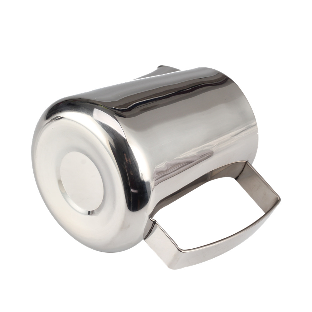 stainless steel milk pitcher
