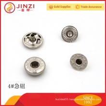 High end metal rivet button for jeans / cloths promotional