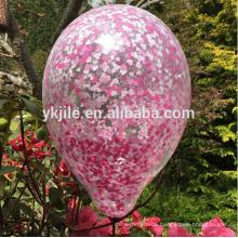 Natürliche Hochzeit Konfetti Ballon Frühling Hochzeit Tiny Heart Rosa Konfetti