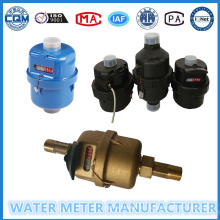 Kent Medidores de agua en material de plástico y latón para la opción