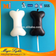 New Design Dog Bone Shaped Candle