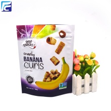Matte folie snackzak voor banaanchips
