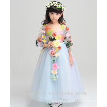 dress model 12 year old girl body without dress scoop neckline sleeveless baby dresses ED759