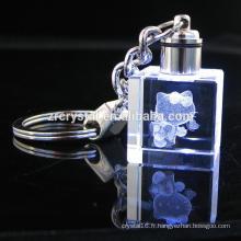 K9 Vierge Cristal Keychian Bonjour Kitty Cristal Porte-clés