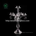 Прозрачный держатель для свечи из стекла BV, SGS (ч: 35 см)